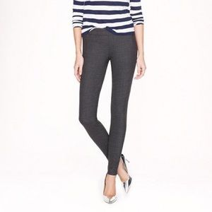 j. crew full length minnie pant in bi-stretch wool